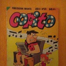 Tebeos: COPITO AÑO II Nº 59 BRUGUERA 1981 .. Lote 29774557