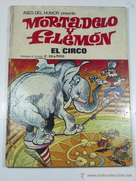 MORTADELO Y FILEMON. EL CIRCO Nº 27 ASES DEL HUMOR. 1973 (Tebeos y Comics - Bruguera - Mortadelo)