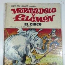 Tebeos: MORTADELO Y FILEMON. EL CIRCO Nº 27 ASES DEL HUMOR. 1973. Lote 29814848
