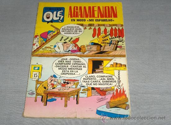 OLÉ Nº 13 AGAMENÓN. BRUGUERA 1ª EDICIÓN CON Nº EN LOMO 1970 40 PTS. DIFÍCIL!!!!!!! (Tebeos y Comics - Bruguera - Ole)