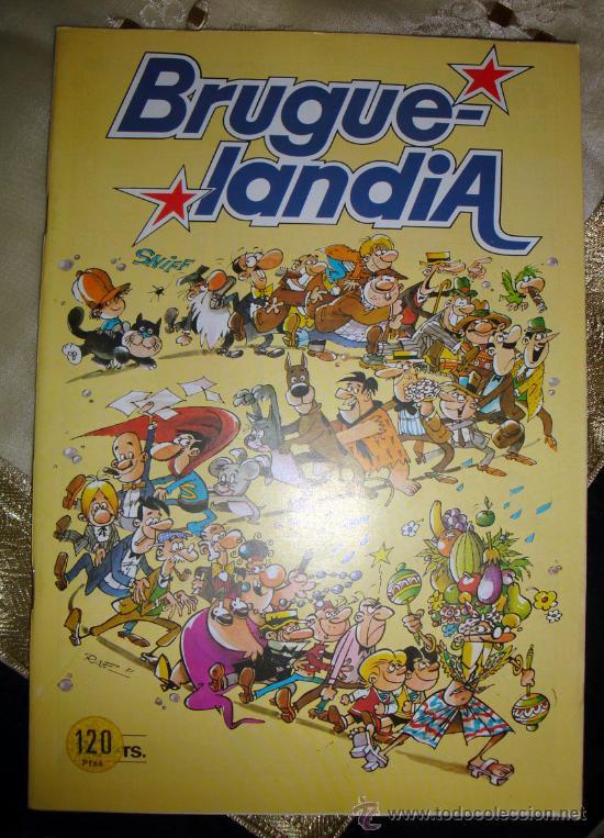 BRUGUERA - 1981 BRUGUELANDIA - Nº 1. COMIC STORY-1 COMPLETO DE CIFRÈ NUEVO (Tebeos y Comics - Bruguera - Otros)
