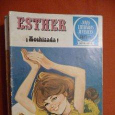 Tebeos: JOYAS LITERARIAS JUVENILES. SERIE AZUL. Nº 46. ESTHER.¡HECHIZADA!. BRUGUERA.. Lote 30075945