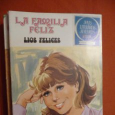 Tebeos: JOYAS LITERARIAS JUVENILES. SERIE AZUL. Nº 49.LA FAMILIA FELIZ. LÍOS FELICES. BRUGUERA.. Lote 30075949