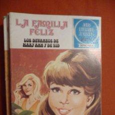 Tebeos: JOYAS LITERARIAS JUVENILES. SERIE AZUL. Nº 50. LA FAMILIA FELIZ. LOS DEVANEOS DE MARY ANN Y DE SID. Lote 30075953