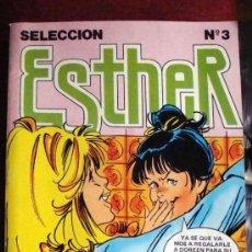 Tebeos: ESTHER. SELECCIÓN Nº 3, SON 5 COMICS EN UNO 87, 88, 89, 90 Y 91 AÑO 1981, NUEVO. Lote 30153625