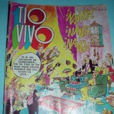 Tebeos: COMIC. TIO VIVO. ALMANAQUE PARA 1975.. Lote 30235405