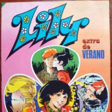 Tebeos: COMIC BRUGUERA AÑO 1983 LILY EXTRA VERANO Nº 34 NUEVO, CON POSTER DEL GRUPO REGALIZ. Lote 30252560
