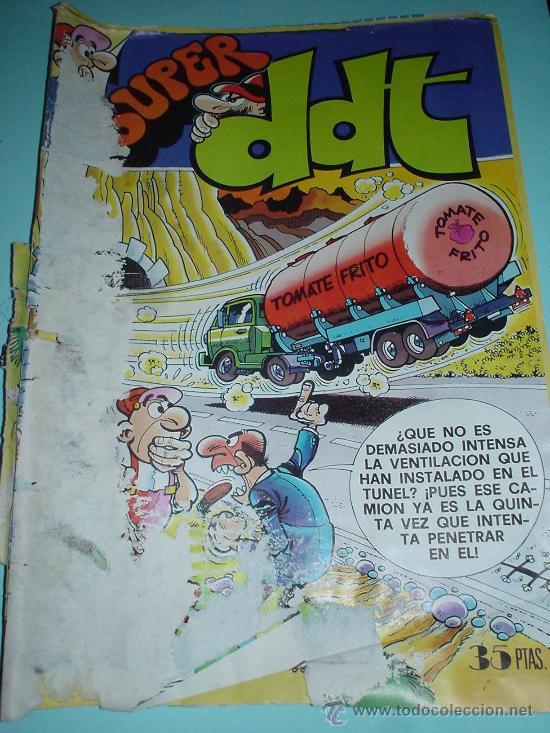 SUPER DDT. Nº62. 25 DE DICIEMBRE DE 1978. COMIC (Tebeos y Comics - Bruguera - DDT)