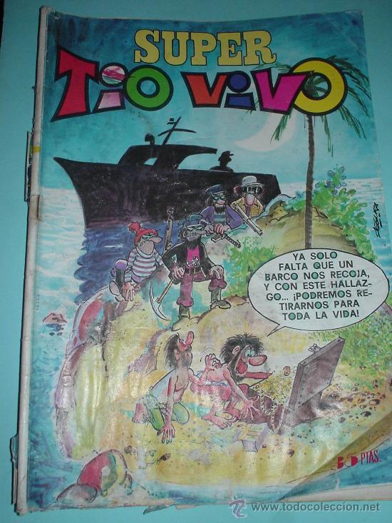 COMIC. SUPER TIO VIVO Nº 69. BRUGUERA. AÑO 1978 (Tebeos y Comics - Bruguera - Tio Vivo)
