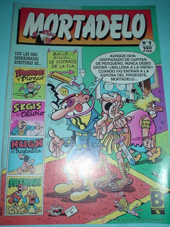 COMIC MORTADELO Nº 9 EDICIONES B GRUPO ZETA 1987 (Tebeos y Comics - Bruguera - Mortadelo)