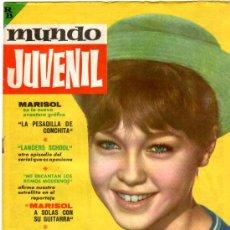 Tebeos: MUNDO JUVENIL Nº 7, EDI. BRUGUERA 1963, AMIGOS DE MARISOL, LANDERS SCHOOL POR CUYAS. Lote 32096703