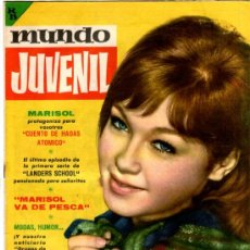 Tebeos: MUNDO JUVENIL Nº 10, EDI. BRUGUERA 1963, AMIGOS DE MARISOL, LANDERS SCHOOL POR CUYAS. Lote 30337626