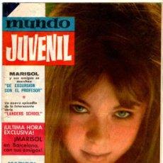 Tebeos: MUNDO JUVENIL Nº 12, EDI. BRUGUERA 1963, AMIGOS DE MARISOL, LANDERS SCHOOL POR CUYASMUN. Lote 30337641