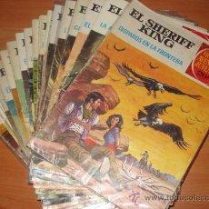 Tebeos: LOTE DE 7 COMICS DE EL SHERIFF KING. EDITORIAL BRUGUERA.. Lote 30339470