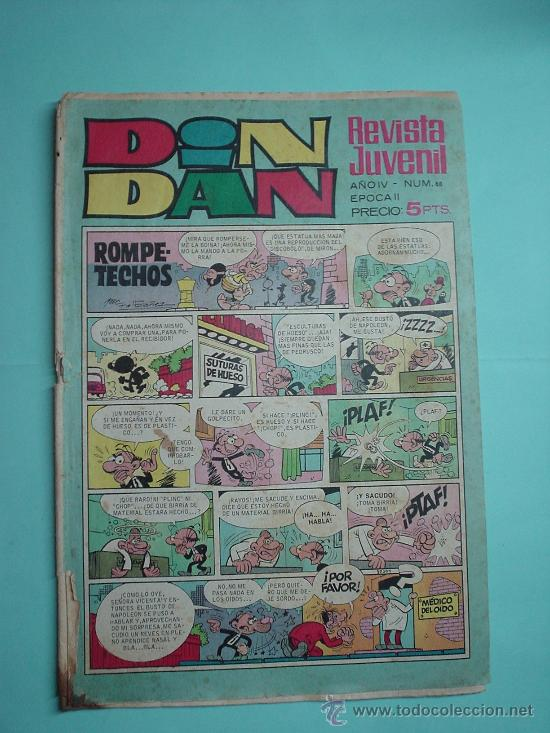 DIN DAN Nº 88. 1969. 5PTAS. COMIC. (Tebeos y Comics - Bruguera - Din Dan)