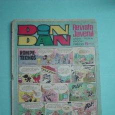 Tebeos: DIN DAN Nº 88. 1969. 5PTAS. COMIC.. Lote 30410813