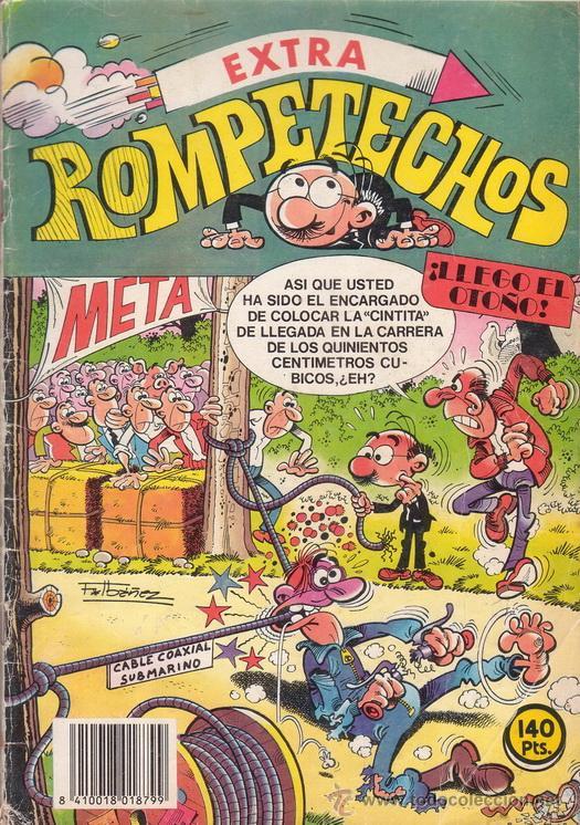ROMPETECHOS EXTRA ¡LLEGO EL OTOÑO!. CON EL BUDA DE JADE Y BARRA-B. EDITORIAL BRUGUERA. (Tebeos y Comics - Bruguera - Otros)