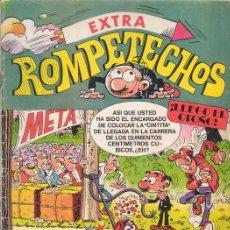 Tebeos - ROMPETECHOS EXTRA ¡LLEGO EL OTOÑO!. Con El buda de jade y Barra-B. Editorial Bruguera. - 30439362