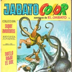 Tebeos: JABATO COLOR COL. SUPER AVENTURAS Nº 1796 DUELO BAJO EL SOL. Lote 30444312