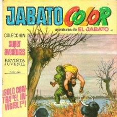 Tebeos: JABATO COLOR COL. SUPER AVENTURAS Nº 1786 SOLO CONTRA EL INVISIBLE. Lote 30444392