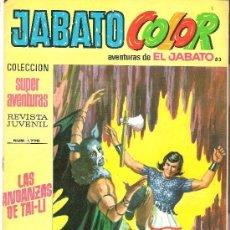 Tebeos: JABATO COLOR COL. SUPER AVENTURAS Nº 1770 LAS ANDANZAS DE TAI-LI. Lote 30444495