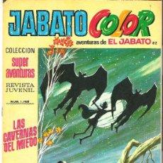 Tebeos: JABATO COLOR COL. SUPER AVENTURAS Nº 1768 LAS CAVERNAS DEL MIEDO. Lote 30444507
