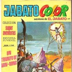 Tebeos: JABATO COLOR COL. SUPER AVENTURAS Nº 1742 UN TRIUNFO DE VAN-DONG. Lote 30444728