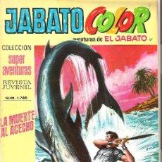 Tebeos: JABATO COLOR COL. SUPER AVENTURAS Nº 1738 LA MUERTE AL ACECHO. Lote 30444778