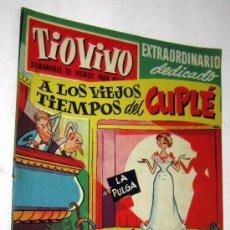 Tebeos: TIO VIVO SEMANARIO DE HUMOR PARA MAYORES - NUMERO EXTRAORDINARIO DEDICADO AL CUPLE. Lote 30536392