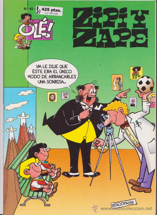 COLECCION OLE ZIPI Y ZAPE N 42 (Tebeos y Comics - Bruguera - Ole)