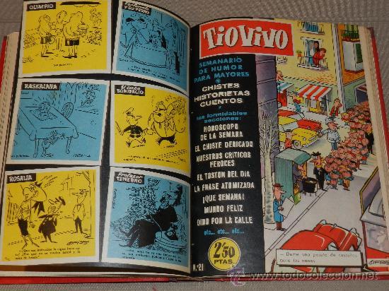 Tebeos: (M-22) TIO VIVO - LOTE DE 15 NUMEROS ENCUADERNADOS - EXTRAORDINARIO AL TERROR, VER LISTA - Foto 2 - 30587452