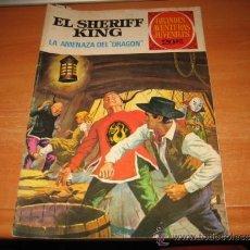 Tebeos: EL SHERIFF KING LA AMENAZA DEL DRAGON AVENTURAS JUVENILES Nº 4. Lote 30667640