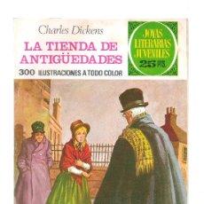 Tebeos: JOYAS LITERARIAS JUVENILES Nº 154 - LA TIENDA DE ANTIGÜEDADES - 1º EDICION FEBRERO 1976. Lote 30681942