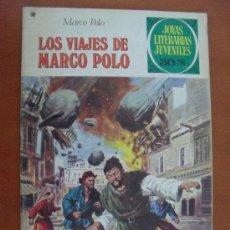 Tebeos: JOYAS LITERARIAS Nº 166 ** LOS VIAJES DE MARCO POLO ** BRUGUERA. Lote 30708240