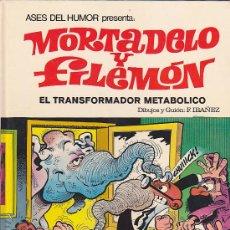 Tebeos: ASES DEL HUMOR Nº 38 MORTADELO Y FILEMON EL TRANSFORMADOR METABOLICO 1ª EDICION. Lote 30715453
