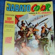 Tebeos: - JABATO COLOR - - PRIMERA (1ª) EPOCA- - 1.969 - - N.º 2 ¡¡¡ MUY DIFICIL ¡¡¡. Lote 30727547
