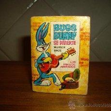 Tebeos: MINI INFANCIA - Nº 6. BUGS BUNNY SE DIVIERTE ** BRUGUERA - 1968 ** 1ª EDICION. Lote 30767045