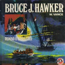 Tebeos: BRUCE J. HAWKER - W. VANCE - RUMBO A GIBRALTAR - JET BRUGUERA. Lote 30840081