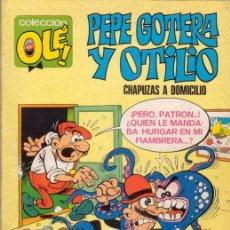 Tebeos: PEPE GOTERA Y OTILIO. CHAPUZAS A DOMICILIO. COLECCIÓN OLÉ Nº 1. EDITORIAL BRUGUERA.. Lote 30845757
