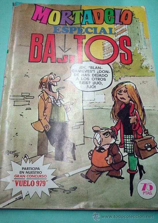 COMIC. MORTADELO ESPECIAL Nº 57 BAJITOS . BRUGUERA 1979. 75 PTS. (Tebeos y Comics - Bruguera - Mortadelo)
