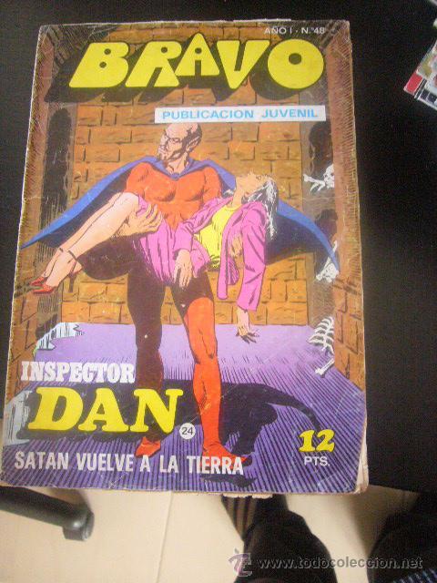 INSPECTOR DAN Nº 24 EDITORIAL BURGUERA 1976 (Tebeos y Comics - Bruguera - Inspector Dan)
