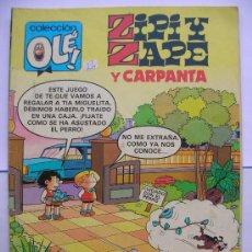 Tebeos: COLECCION OLE Nº 210: ZIPI Y ZAPE Y CARPANTA 62 EDICIONES B. Lote 30886265