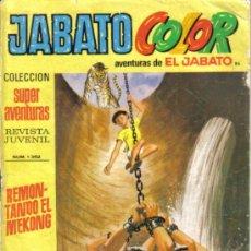 Tebeos: JABATO COLOR Nº 86. REMONTANDO EL MEKONG. BRUGUERA 1971. LITERACOMIC.. Lote 30910236