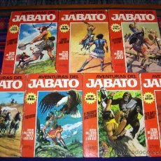 Tebeos: JABATO COLOR EXTRA ALBUM ROJO COMPLETA 8 NºS. BRUGUERA 1970. PRECIO DE GANGA!!!!!!. Lote 30931468