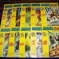 Tebeos: JABATO COLOR EXTRA ALBUM AMARILLO 1ª ÉPOCA NºS 25 33. BRUGUERA 1971 DIFÍCILES. TAMBIÉN SUELTOS.. Lote 30931525