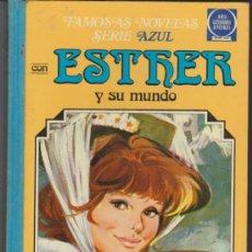Tebeos: ESTHER. SERIE AZUL Nº 4. ESTHER Y SU MUNDO.. Lote 30933897