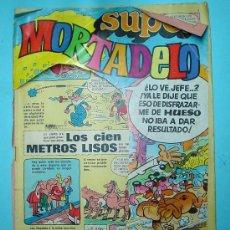 Tebeos: SUPER MORTADELO Nº 15 - 1973 - ED. BRUGUERA. PORTADA RECORTADA. COMIC. Lote 30955665