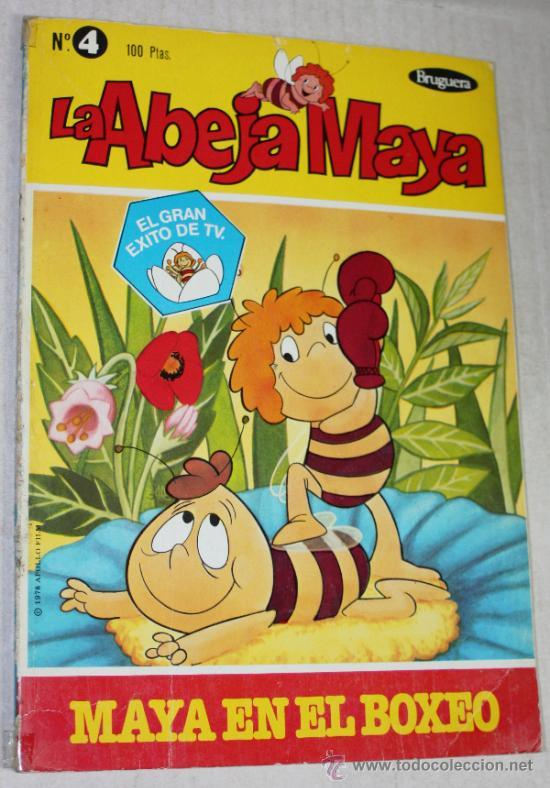 LA ABEJA MAYA Nº4 : MAYA EN EL BOXEO (Tebeos y Comics - Bruguera - Otros)