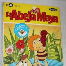 Tebeos: LA ABEJA MAYA Nº4 : MAYA EN EL BOXEO. Lote 30993165
