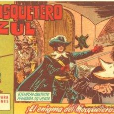 Tebeos: EL MOSQUETERO AZUL Nº 1 EDI. BRUGUERA 1962 MANUEL GAGO. Lote 31046738